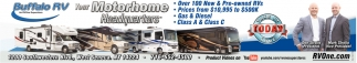 Over 100 New & Pre-Owned RVs