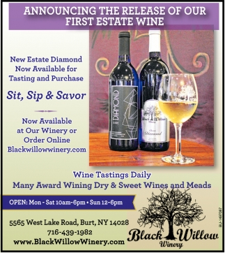 Announcing the Release of Our First State Wine