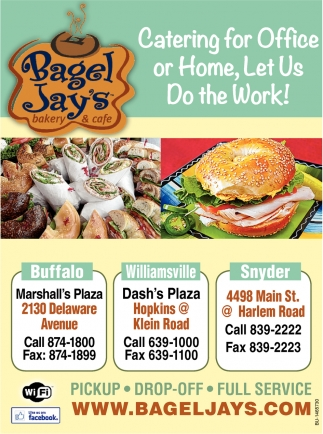 Catering for Office or Home, Let Us Do the Work!