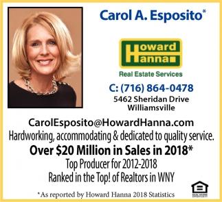 Over $20 Million in Sales in 2018*