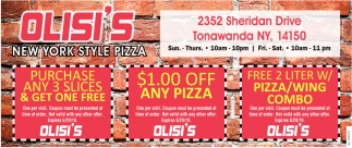 Purchase Any 3 Slices & Get One Free