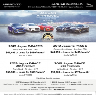 Jaguar Approved Certified Pre-Owned Sales Event
