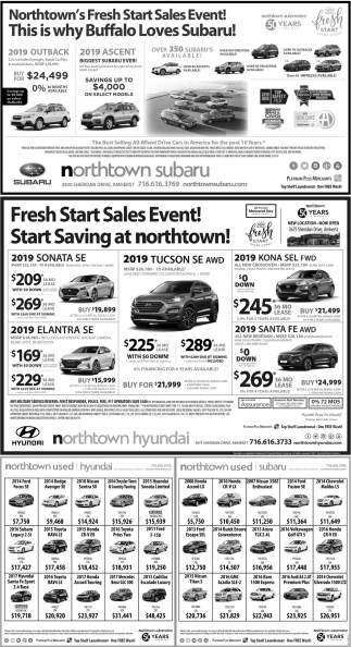 Fresh Start Sales Event!