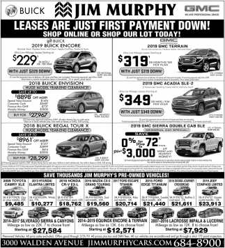 Leases are Just First Payment Down!