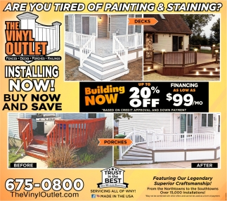 Are You Tired of Painting & Staining?