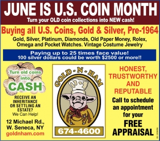 June is U.S. Coin Month