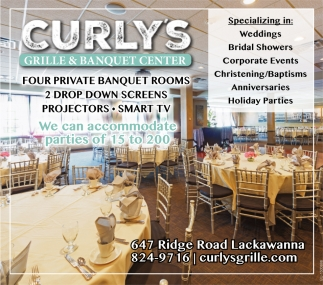 Four Private Banquet Rooms