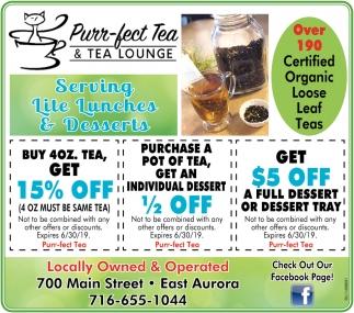 Over 190 Certified Organic Loose Leaf Teas