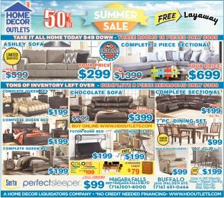 Summer Sale Home Decor Outlets Buffalo Ny