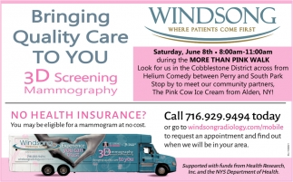 Bringing Quality Care to You