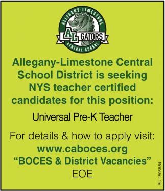 Universal Pre-K Teacher