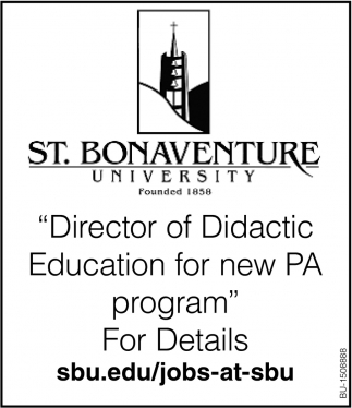 Director of Didactic Education