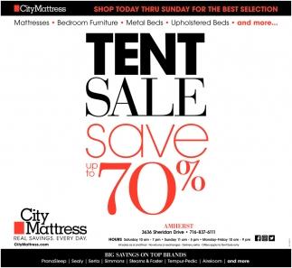 Tent Sale Save 70%