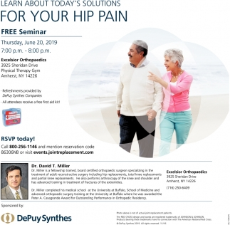 Learn About Today's Solutions for Your Hip Pain