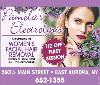Specializing in Women's Facial Hair Removal