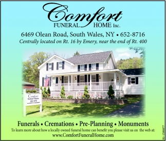 Funerals, Cremations, Pre-Planning & Monuments