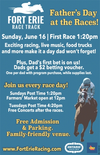 Father's Day at the Races!