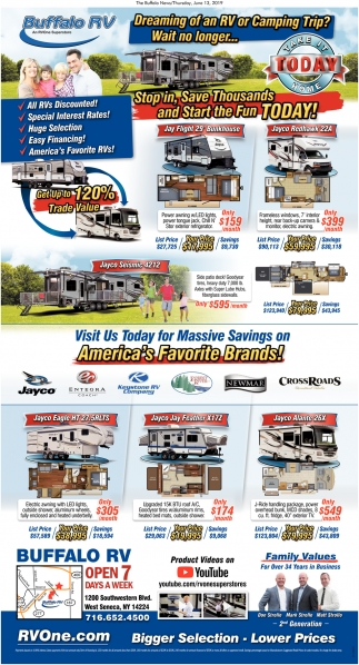 Dreaming of an RV or Camping Trip?