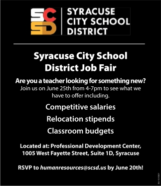 District Job Fair