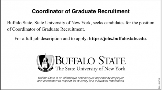 Coordinator of Graduate Recruitment