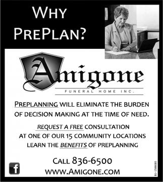 Why Preplan?