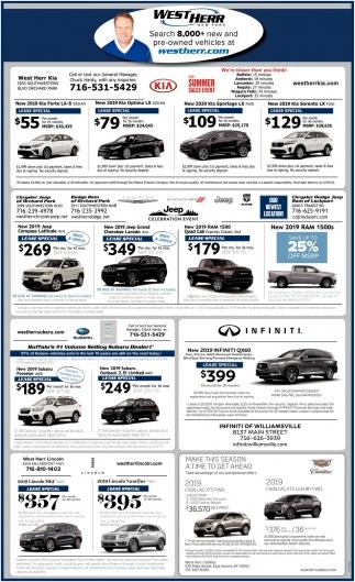West Herr Used Cars >> 8 000 New Used Vehicles West Herr New York Aurora Ny