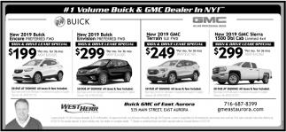 #1 Volume Buick & GMC Dealer in NY!