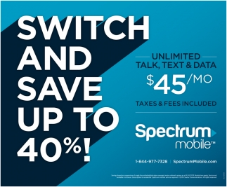 Switch and Save Up to 40%
