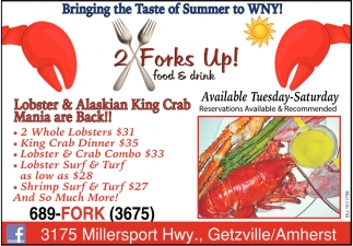 Lobster & Alaskan King Crab Mania