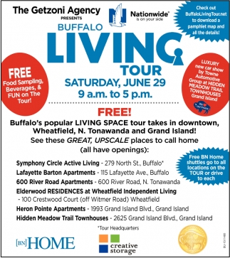 Buffalo Living Tour