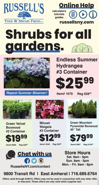 Shrubs for All Gardens