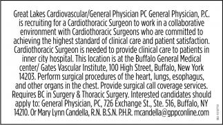 Cardiothoracic Surgeon
