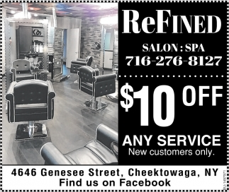 $10 OFF Any Service New Customers Only