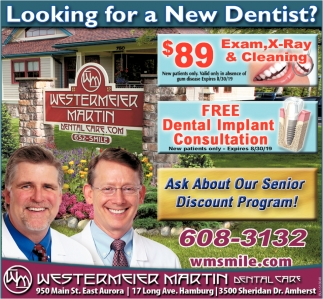 Looking for a New Dentist?