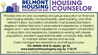 Housing Counselor