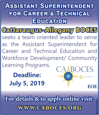 Assistant Superintendent for Career & Technical Education