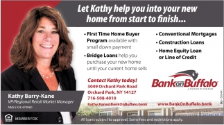 Let Katy Help You Into Your New Home from Start to Finish...