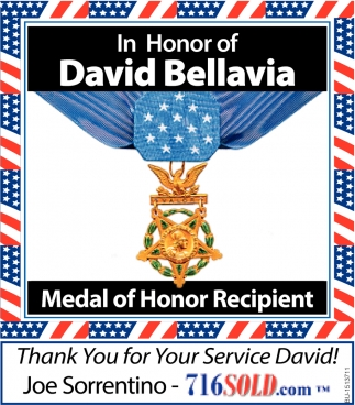 In Honor of David Bellavia