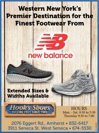 Western New York's Premier Destination for the Finest Footwear from NB New Balance