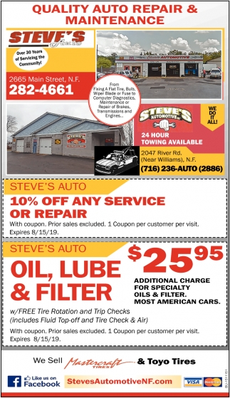 Quality Auto Repair & Maintenance