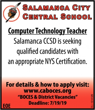 Computer Technology Teacher