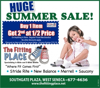 Huge Summer Sale!