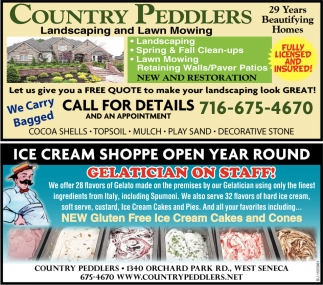Ice Cream Shoppe Open Year Round