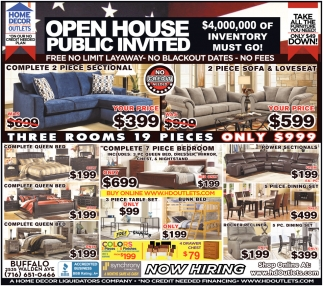 Open House Public Invited