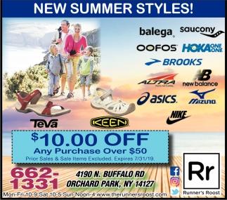 New Summer Styles!
