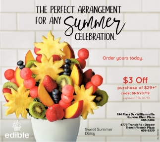 The Perfect Arrangement for Any Summer Celebration