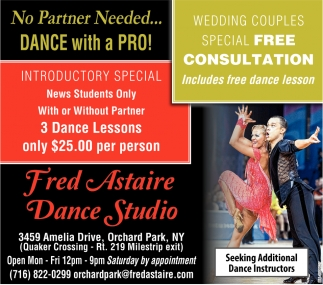 No Partner Needed... Dance with a Pro!