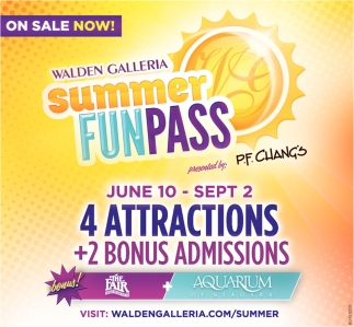 Walden Galleria Summer Funpass