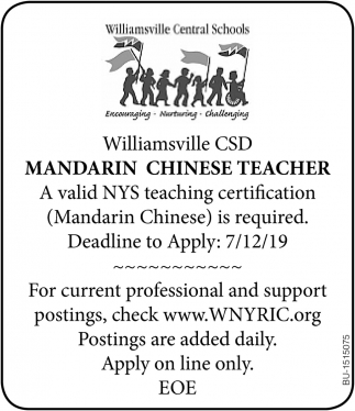 Mandarin Chinese Teacher