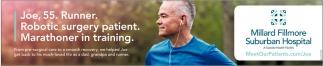 Joe, 55. Runner. Robotic Surgery Patient.